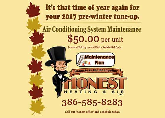 Annual Air Conditioning Maintenance Palm Coast Contractors